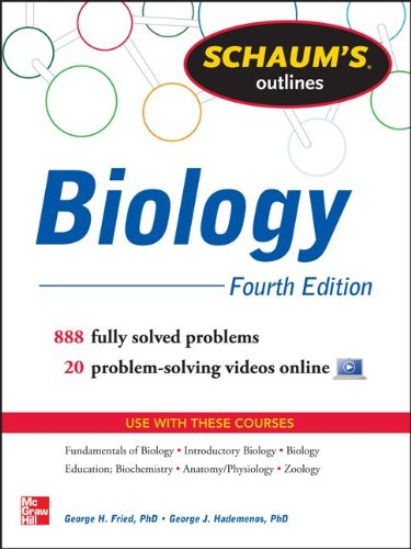 Schaum's Outline of Biology  4th 2013 edition cover