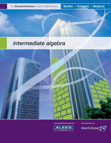 Intermediate Algebra   2008 9780073309309 Front Cover