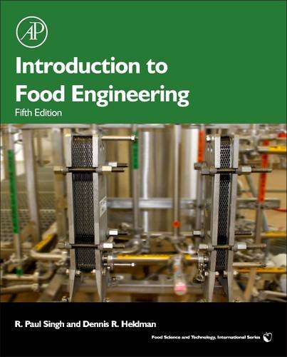 Introduction to Food Engineering  5th 2013 edition cover