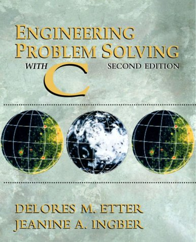 Engineering Problem Solving with C  2nd 2000 edition cover