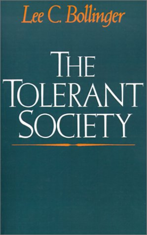Tolerant Society  N/A edition cover