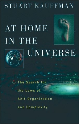At Home in the Universe The Search for the Laws of Self-Organization and Complexity  1996 edition cover