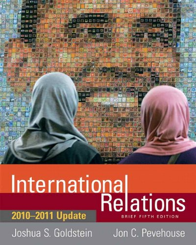 International Relations 2010-2011  5th 2011 (Revised) 9780205791309 Front Cover