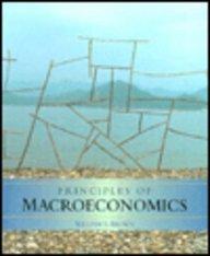 Principles of Macroeconomics 1st 9780314042309 Front Cover