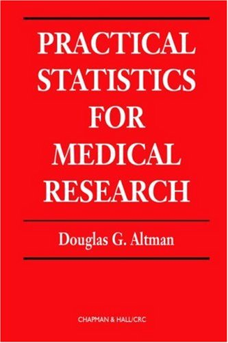 Practical Statistics for Medical Research   1990 edition cover