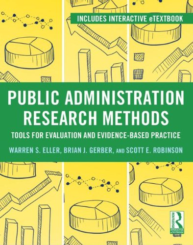 Research Methods for Evidence-Based Public Management   2013 edition cover