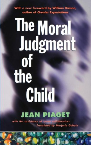 Moral Judgement of the Child   1997 edition cover
