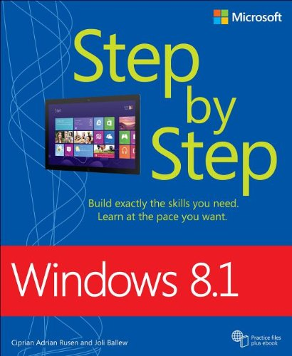 Windows 8. 1 Step by Step   2014 edition cover