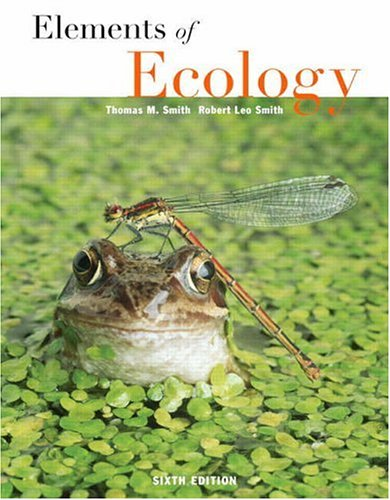 Elements of Ecology  6th 2006 (Revised) edition cover
