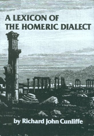 Lexicon of the Homeric Dialect  N/A edition cover