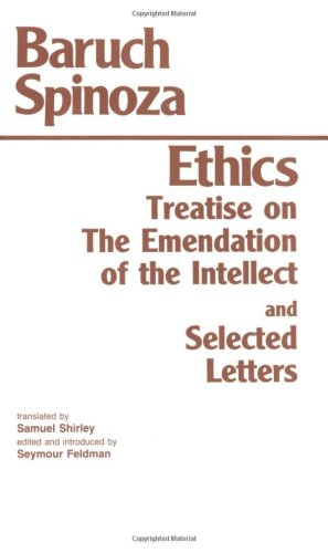 Ethics, with the Treatise on the Emendation of the Intellect, and Selected Letters  2nd 1992 edition cover