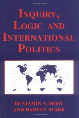 Inquiry, Logic and International Politics  1989 edition cover