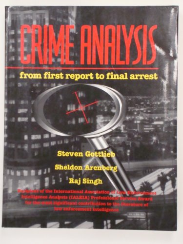 CRIME ANALYSIS:...FIRST...FINA N/A edition cover