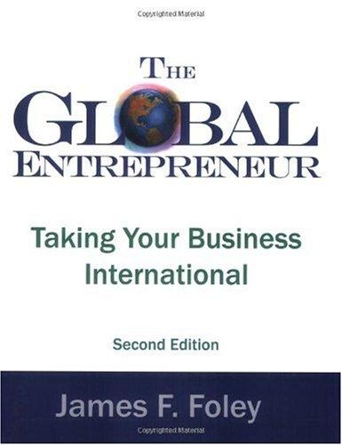 Global Entrepreneur  2nd 2004 edition cover