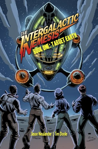 Intergalactic Nemesis Book One Target Earth  2010 edition cover