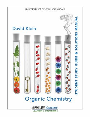 Student Solutions Manual Organic Chemistry 1E with School Supp for University of Central Oklahoma  N/A 9781118104309 Front Cover