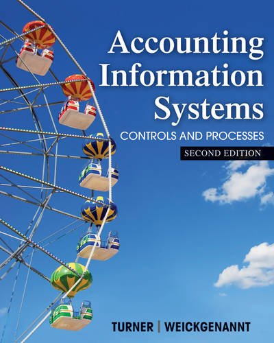 Accounting Information Systems The Processes and Controls 2nd 2013 edition cover