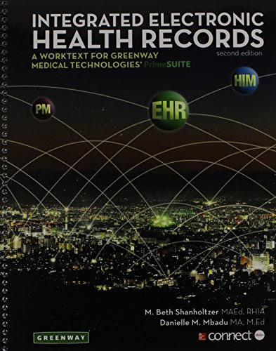 MP: Integrated Electronic Health Records with Connect Plus Access Card  2nd 2015 edition cover