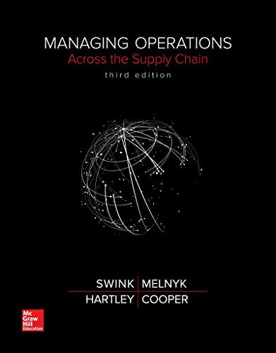 Managing Operations Across the Supply Chain:   2016 9781259544309 Front Cover