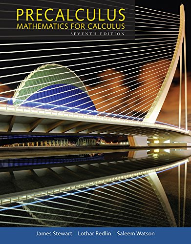 Precalculus: Mathematics for Calculus, High School Edition 7th 2015 9781305115309 Front Cover