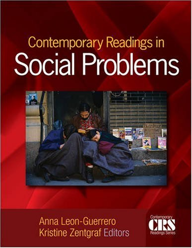 Contemporary Readings in Social Problems   2009 edition cover