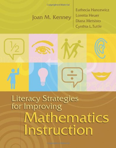 Literacy Strategies for Improving Mathematics Instruction   2005 edition cover