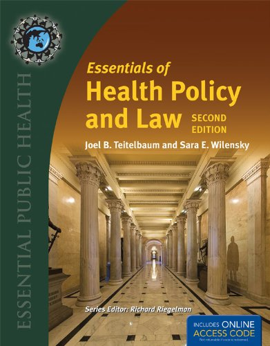 Essentials of Health Policy and Law  2nd 2013 9781449653309 Front Cover