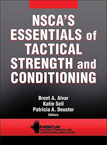 NSCA's Essentials of Tactical Strength and Conditioning   2017 9781450457309 Front Cover