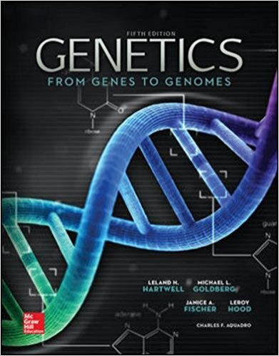 Genetics: From Genes to Genomes 5th 2015 9780073525310 Front Cover