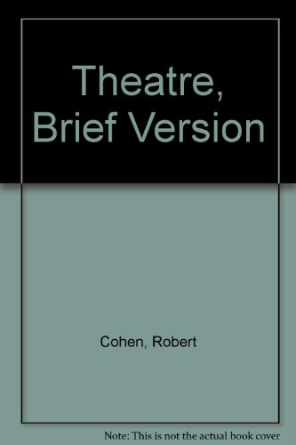 Looseleaf for Theatre Brief  9th 2011 edition cover