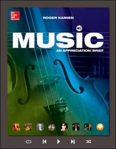 Music An Appreciation 8th 2015 9780077837310 Front Cover