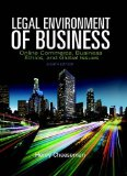 Legal Environment of Business: Online Commerce, Ethics, and Global Issues  2015 9780133973310 Front Cover