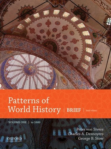 Cover art for Patterns of World History: Brief, Volume One to 1600, 3rd Edition