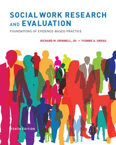 Social Work Research and Evaluation Foundations of Evidence-Based Practice 10th 2014 edition cover