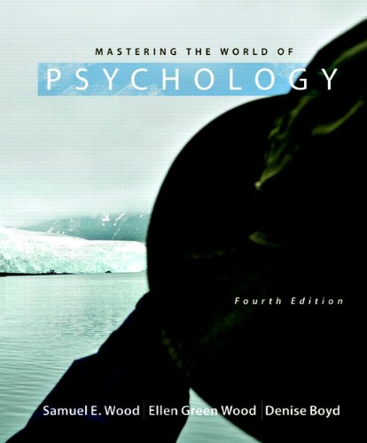 Mastering the World of Psychology  4th 2011 edition cover