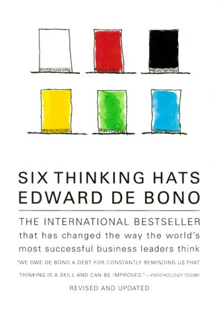 Six Thinking Hats   1999 (Revised) 9780316178310 Front Cover