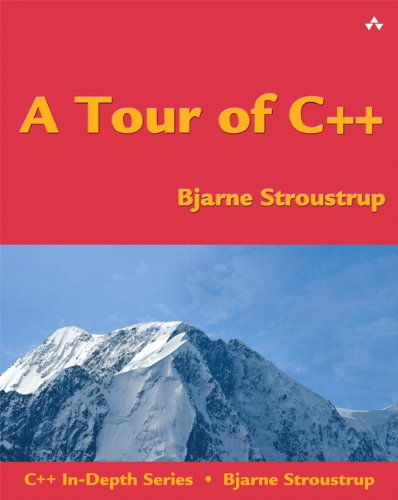 Tour of C++   2014 edition cover