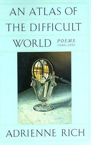 Atlas of the Difficult World Poems, 1988-1991 N/A edition cover