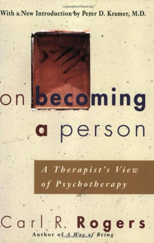 On Becoming a Person A Therapist's View of Psychotherapy  1995 edition cover