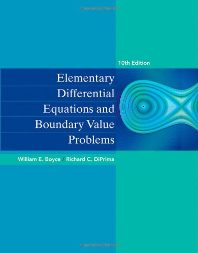 Elementary Differential Equations and Boundary Value Problems  10th 2013 9780470458310 Front Cover
