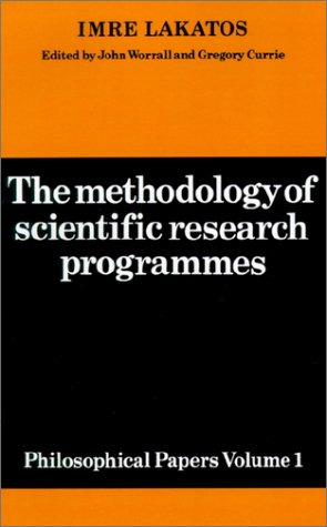 Methodology of Scientific Research Programmes Philosophical Papers  1978 9780521280310 Front Cover