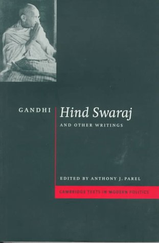 Gandhi 'Hind Swaraj' and Other Writings  1997 9780521574310 Front Cover