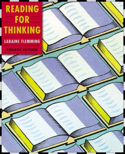 Reading for Thinking : Text 4th 2003 9780618214310 Front Cover