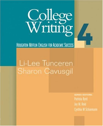 College Writing   2006 edition cover