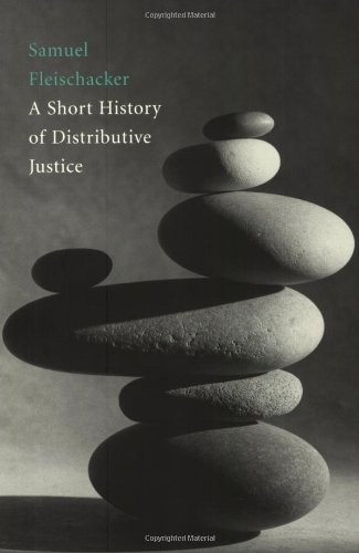 Short History of Distributive Justice   2004 edition cover