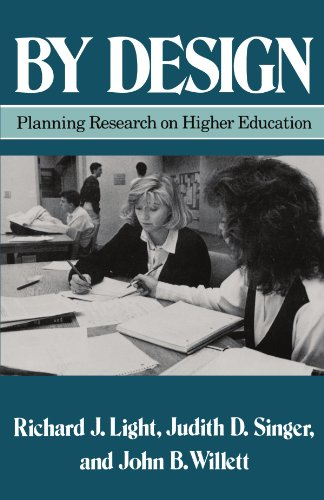 By Design Planning Research on Higher Education  1990 edition cover
