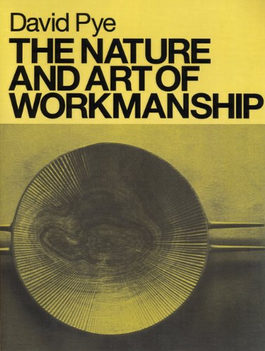Nature and Art of Workmanship  N/A edition cover