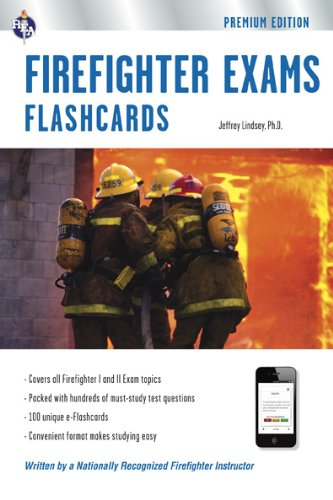 Firefighter I and II Exams  N/A edition cover