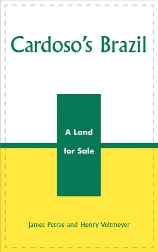 Cardoso's Brazil A Land for Sale  2003 9780742526310 Front Cover