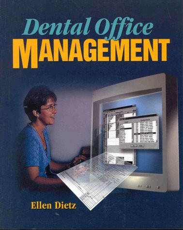 Dental Office Management  1st 2000 9780766807310 Front Cover